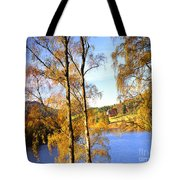 Shades Of Gold Tote Bag