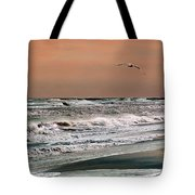 Golden Shore Tote Bag