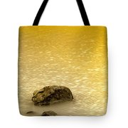 Golden Silence Tote Bag