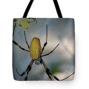 Golden Silk Spider 2 Tote Bag