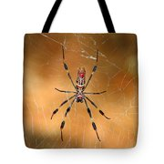 Golden Silk Spider 3 Tote Bag