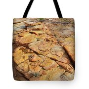 Golden Slopes Of Valley Of Fire State Park Tote Bag