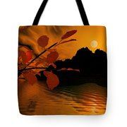 Golden Slumber Fills My Dreams. Tote Bag