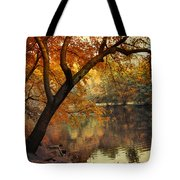 Golden Slumber Tote Bag