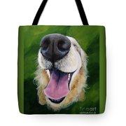 Golden Smile Tote Bag