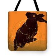 Golden Snare Tote Bag
