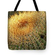 Golden Spines Tote Bag