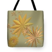 Golden Stars Tote Bag