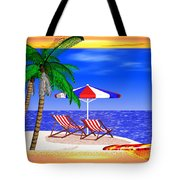 Golden Summer Tote Bag