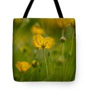 Golden Summer Buttercup 3 Tote Bag