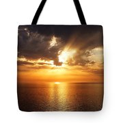 Golden Sun Tote Bag by Julian Perry