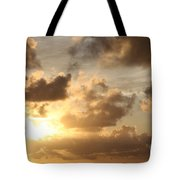 Golden Sunrise On Kauai Tote Bag