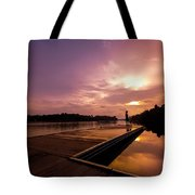 Golden Sunset Tote Bag