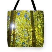 Golden Sunshine Tote Bag