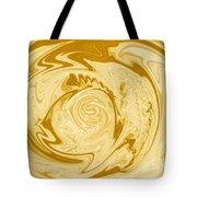 Golden Swirl Tote Bag