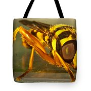 Golden Syrphid Tote Bag