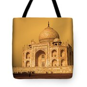 Golden Taj Mahal  Tote Bag
