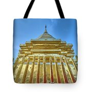 Golden Temple Tote Bag