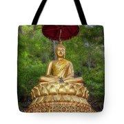 Golden Thai Buddha Tote Bag