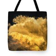Golden Thunderhead Tote Bag