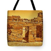 Golden Times Tote Bag