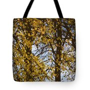 Golden Tree 2 Tote Bag