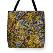 Golden Tree 3 Tote Bag