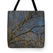 Golden Treetop Tote Bag