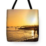 Golden Tropics Hot Beach Sun Tote Bag