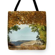 Golden Tunnel Of Love Tote Bag