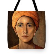 Golden Turban Tote Bag