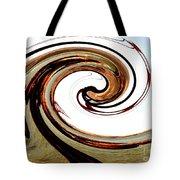 Golden Twist Tote Bag