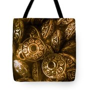 Golden Ufos From Egyptology  Tote Bag