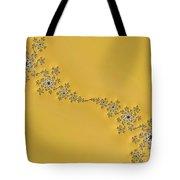 Golden Wave Tote Bag