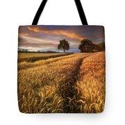 Golden Waves Of Grain Tote Bag