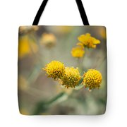 Golden Wildflowers Tote Bag