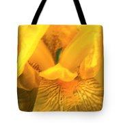 Golden Yellow Iris Tote Bag