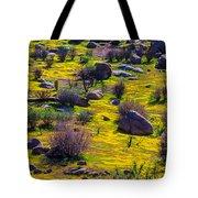 Goldenfield Hillside Tote Bag