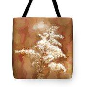 Goldenrod Plant In Fall Tote Bag