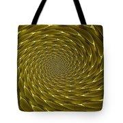 Goldenrod Vortex Tote Bag