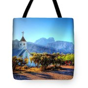 Goldfield Church Tote Bag