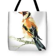 Goldfinch Bird  Tote Bag