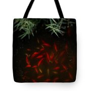 Goldfish Pond Tote Bag