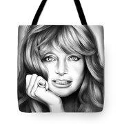 Goldie Hawn Tote Bag