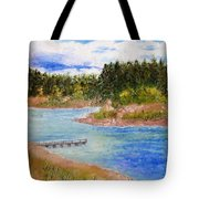 Goldwater Lake Tote Bag