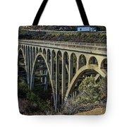 Goleta Hwy 101 Bridge Tote Bag