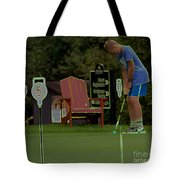 Golf Art 3 Tote Bag