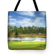 Golf At Pinehurst  Tote Bag