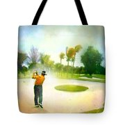 Golf At The Blue Monster In Doral Florida 02 Tote Bag
