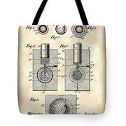 Golf Ball Patent 1902 - Vintage Tote Bag
